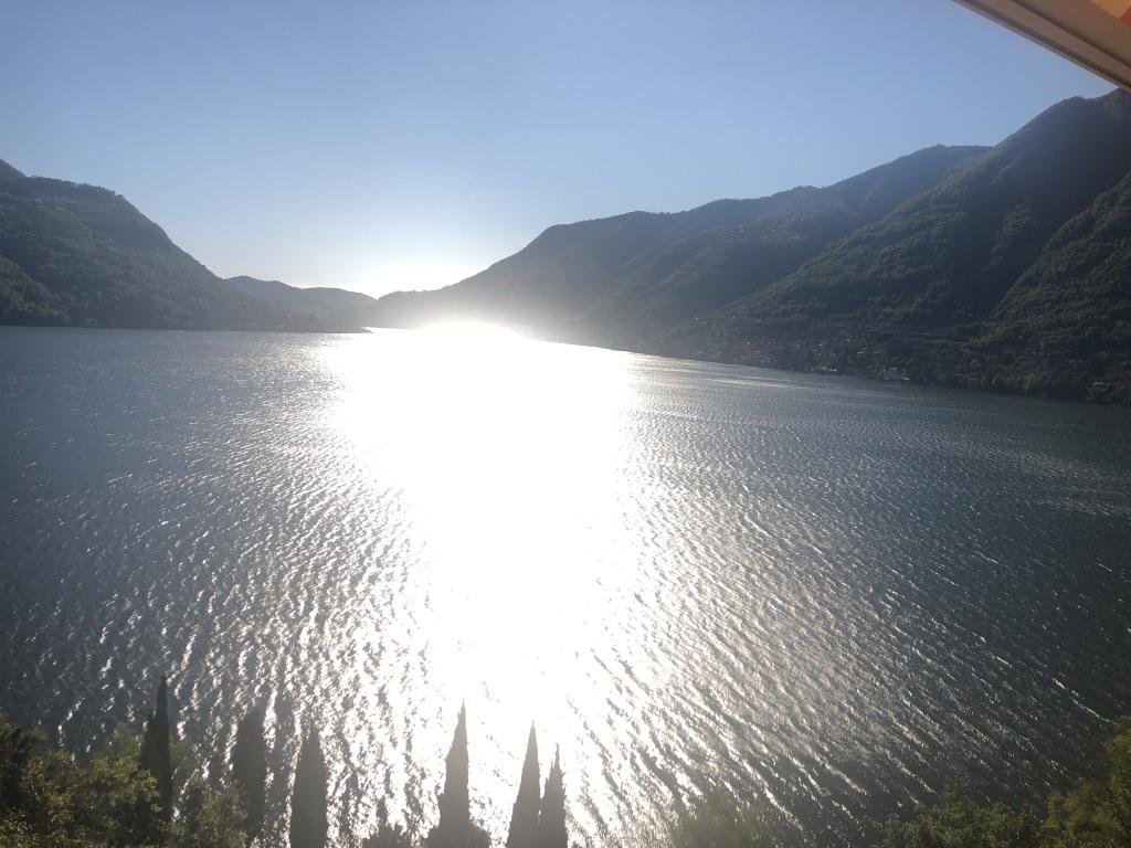 Uitzicht parkeerdek Sunterrace